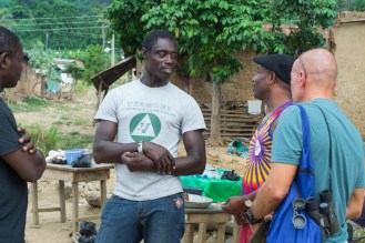Martin was in Ankaase talking to an aid to the assemble woman a day before s of the swim