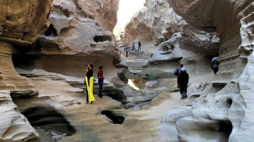 que ver en iran - Chahkooh Canyon - Qeshm