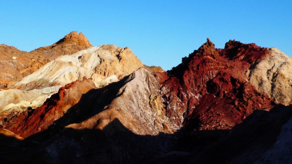 Montañas de colores en Hormuz