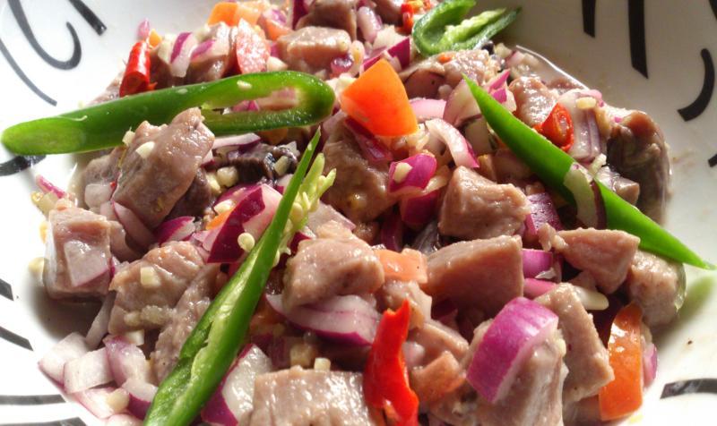 Receta Ceviche - Kinilaw