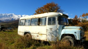 Autobus Armenia - Así Viajabamos Destacda