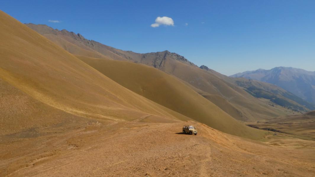 Trekking Caucaso Ruso - Teberda Paso Mukhu