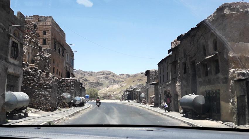 guerra en yemen - pueblo