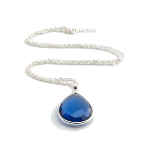 Halsband - Maja Silver Bleu