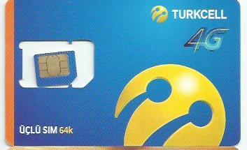 sim card Turkcell