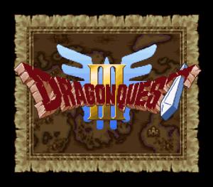 ドラゴンクエスト3 タイトル画面