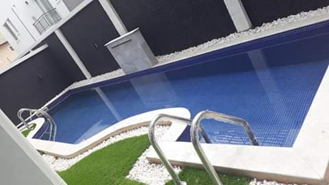 FOR SALE —   FULLY DETACHED 5 BEDROOMS HOUSE + SWIMMING POOL IN BANANA ISLAND.