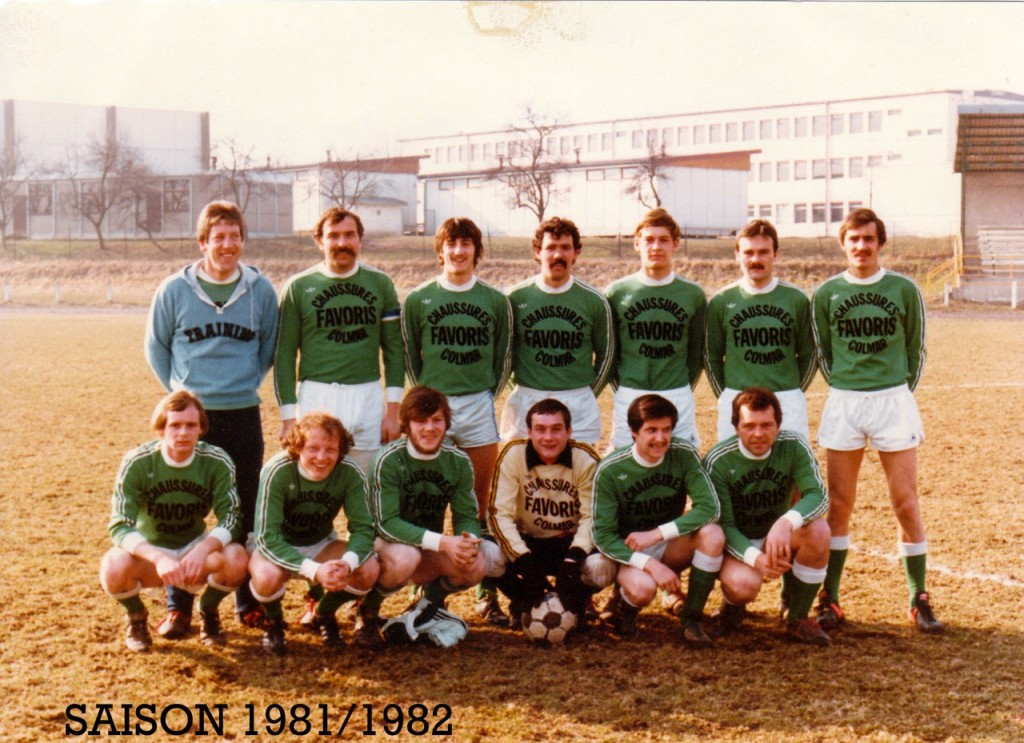 As Andolsheim Séniors 1 1981:1982