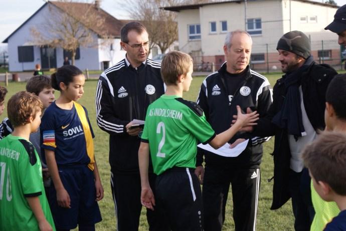 As Andolsheim U 13 Promo rencontre sans enjeu podium montée mathématiquement