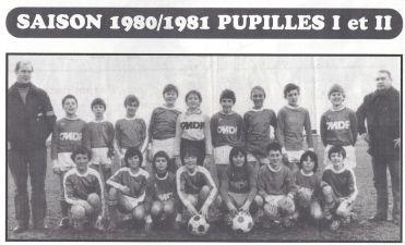 ASA Pupilles 1980- 1981