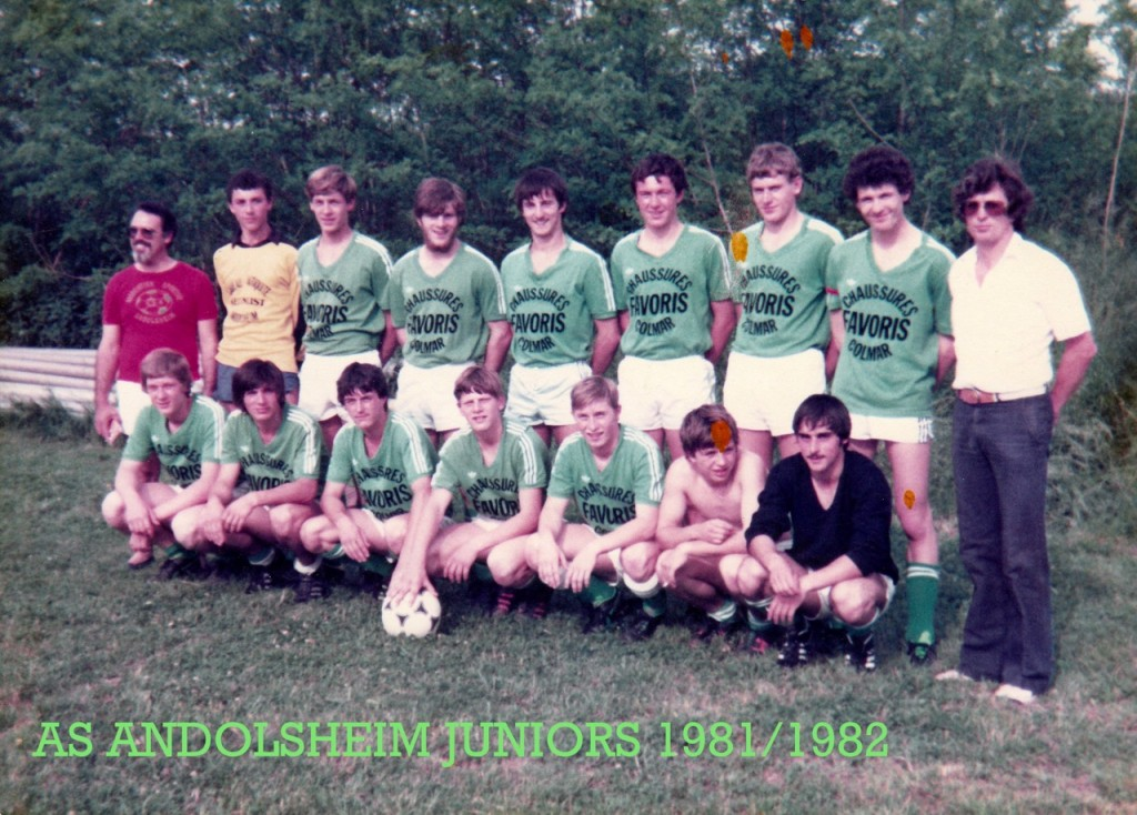 As Andolsheim Juniors 1981:1982