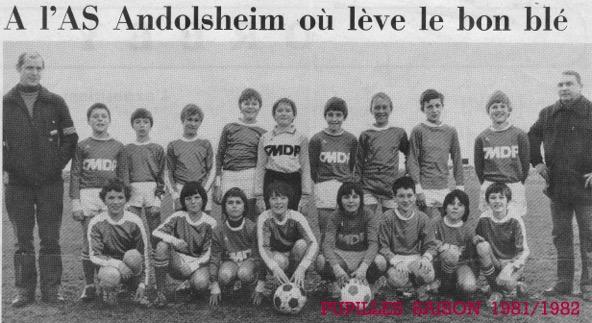 Asa Pupilles 1981-1982