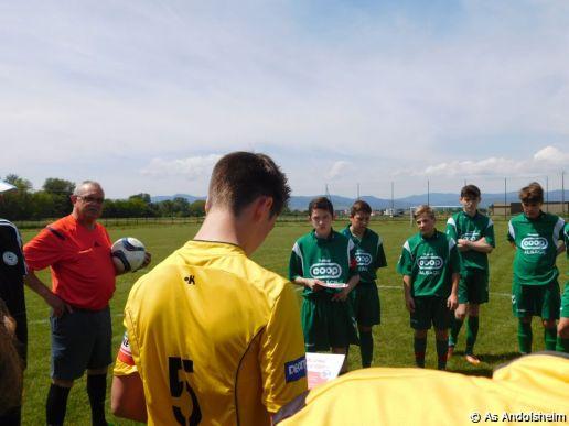 as andolsheim U 15 A vs FC Riquewihr 00010