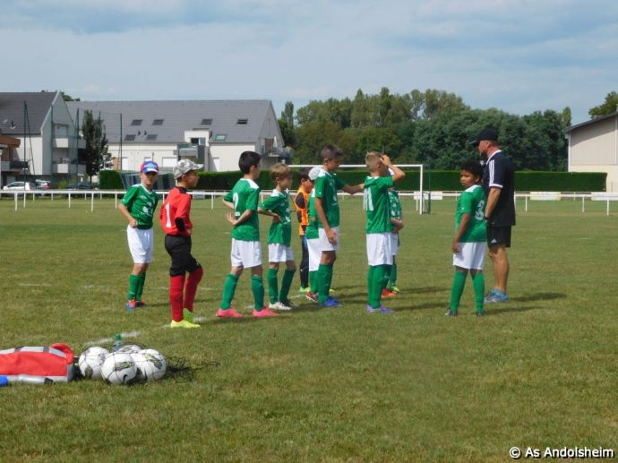 As Andolsheim Tournoi de rentree U 11 FC Horbourg wihr 98