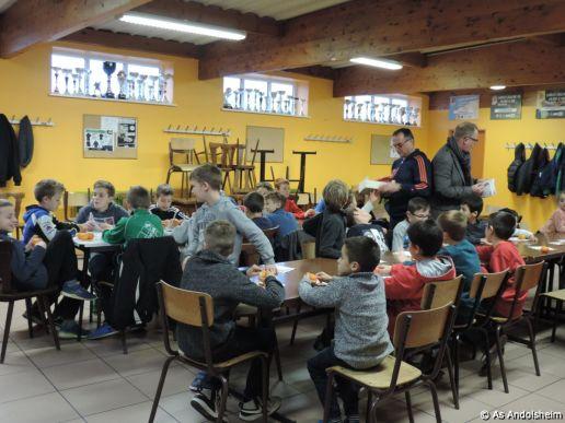 AS Andolsheim fete Noel des U 11 28