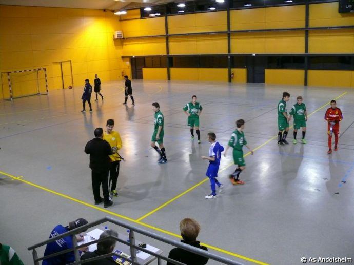 as andolsheim U 15 Promo Tournoi en salle ASC Biesheim 2