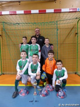 as andolsheim U 11 tournoi en salle AS Wintzenheim 0