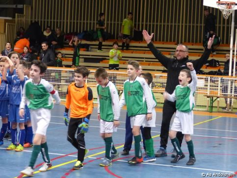 as andolsheim U 11 tournoi en salle AS Wintzenheim 1