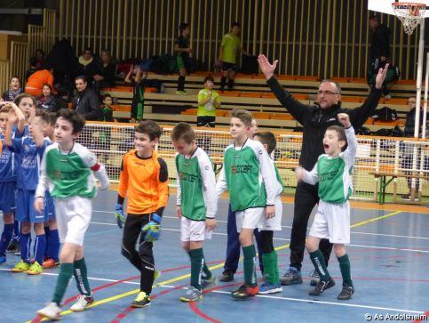 as andolsheim U 11 tournoi en salle AS Wintzenheim 1