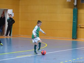 as andolsheim U 11 tournoi en salle AS Wintzenheim 11