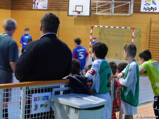 as andolsheim U 11 tournoi en salle AS Wintzenheim 18