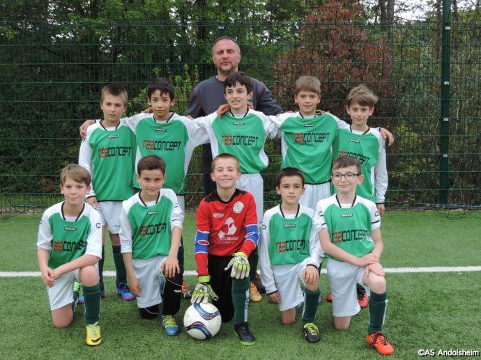 U 11 A AS Canton vert VS AS Andolsheim 00049