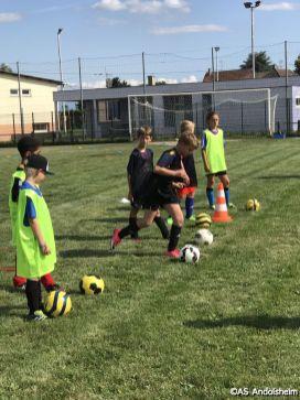 as andolsheim reprise entrainement Ecole de foot00006
