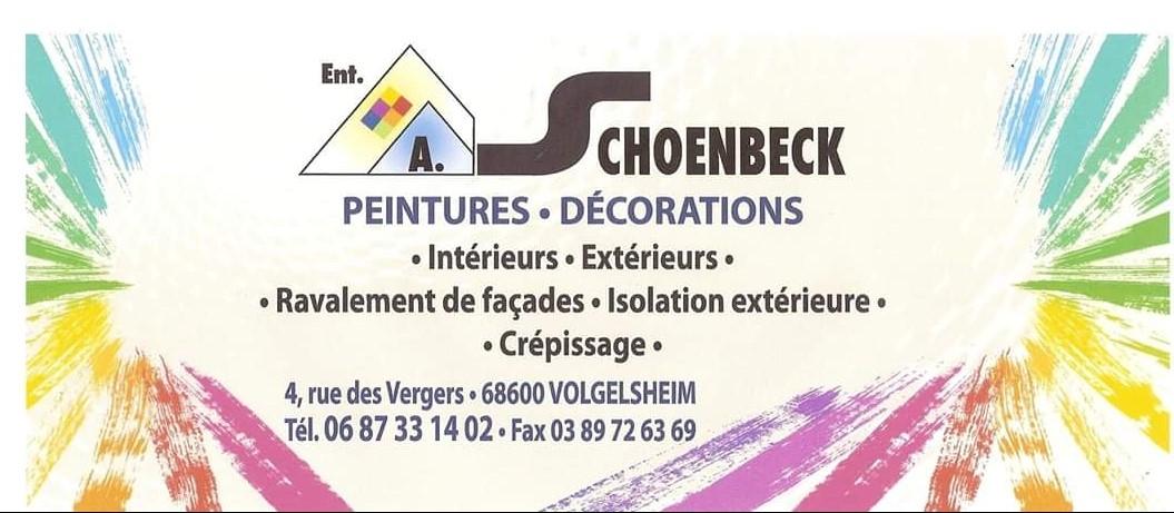 ASA Carte de visite A. SCHOENBECK