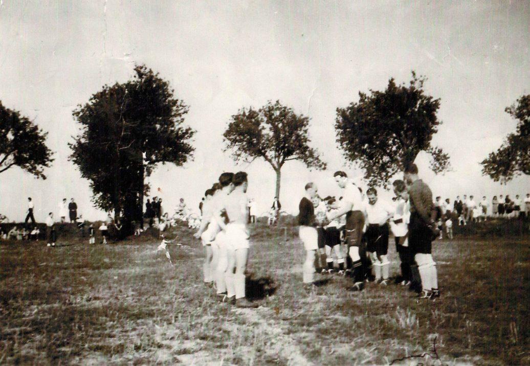 Inauguration du terrain 1948
