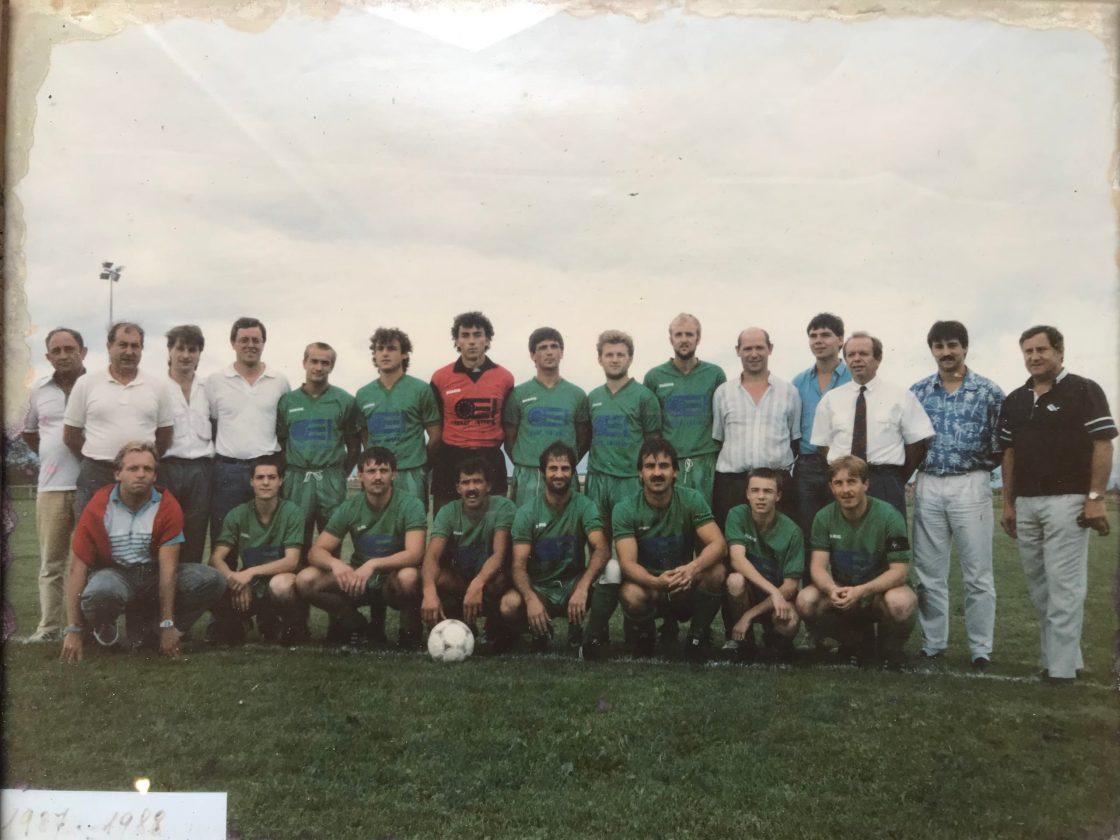 ASA SENIORS 1987-1988