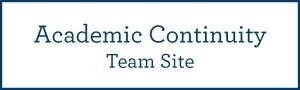 Academic Continuity Team Site