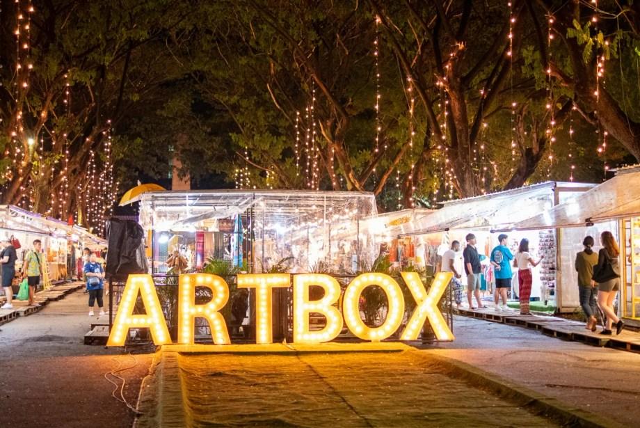 バンコクのナイトマーケット「ARTBOX」