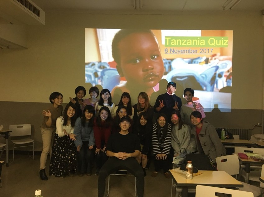 ASANTE WORKSHOPを行いました!TANZANIA QUIZEにあなたも挑戦!