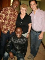 With Students at LEI - Tanzania