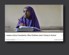 Girl education in Africa