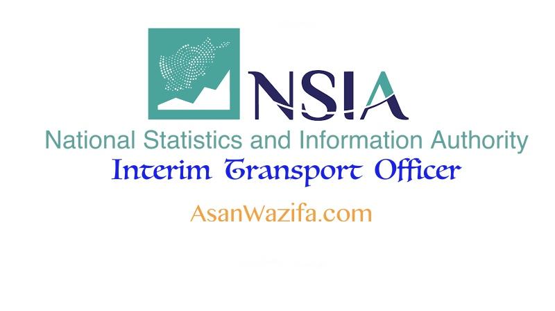 4 jobs at NSIA ( Interim Transport Officer ) - Kabul