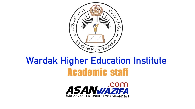 Jobs at Wardak Higher Education Institute as academic staff