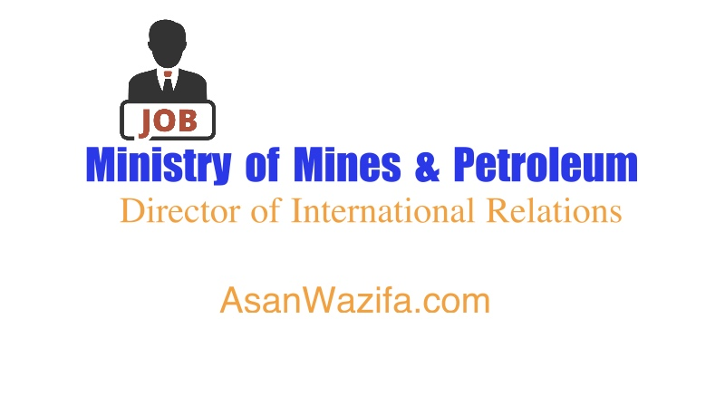 Ministry of Mines & Petroleum ( Director of International Relations )