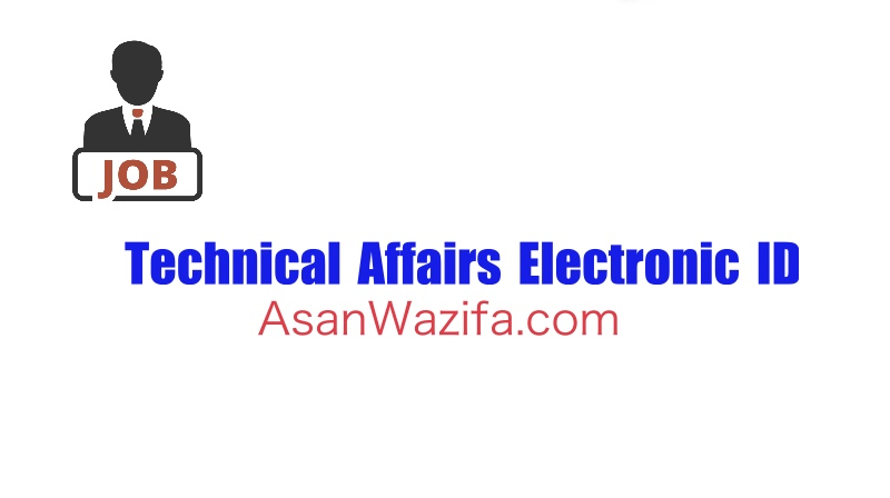 Technical Affairs Electronic ID by - iarcsc