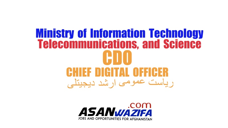 Ministry of Information Technology, Telecommunications, and Science (CDO (CHIEF DIGITAL OFFICER)