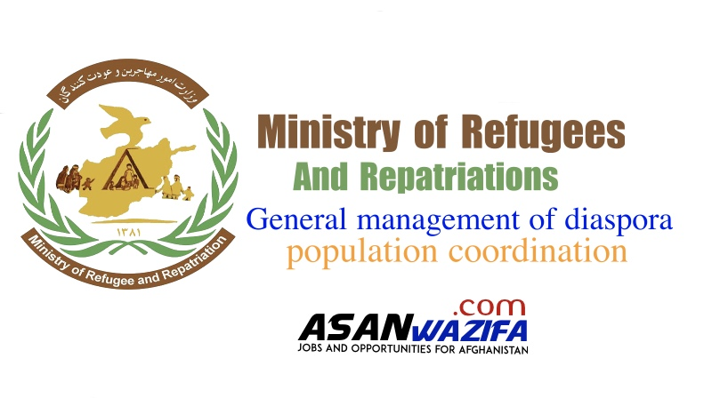 Ministry of Refugees and Repatriations ( General management of diaspora population coordination )