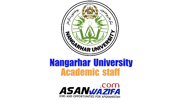 4 jobs at Nangarhar University ( academic staff )