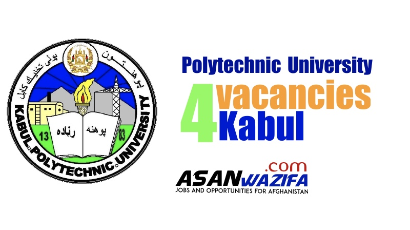 4 jobs by Kabul Polytechnic University ( Academic staff )