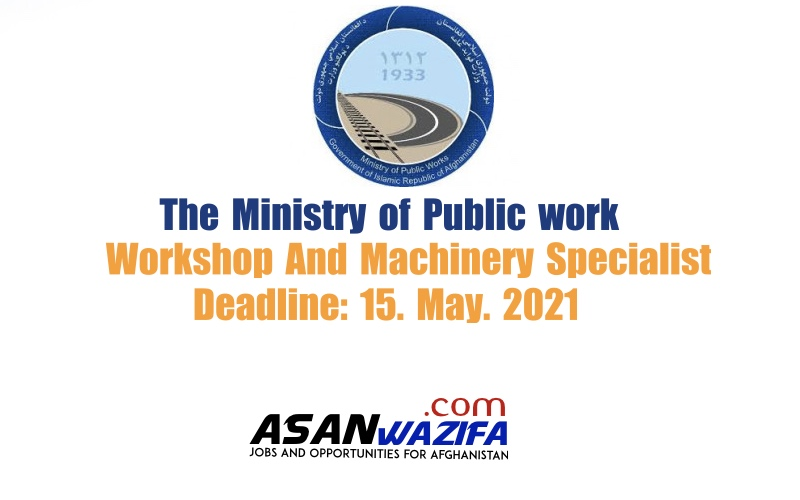 Workshop And Machinery Specialist ( MOPW )