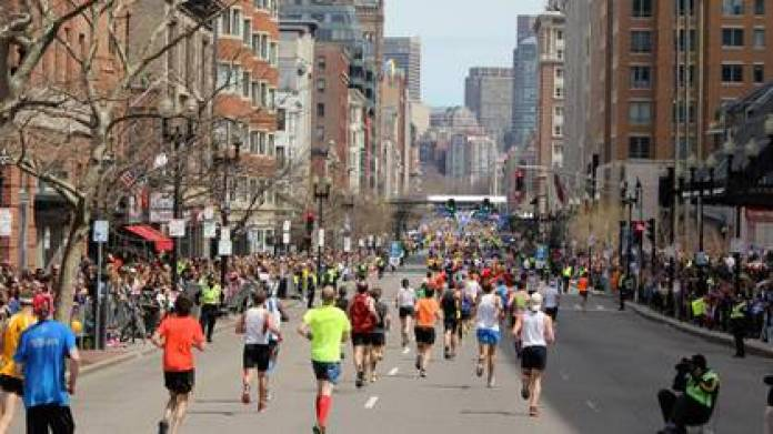 It is the first time in 124 years that the marathon is suspended