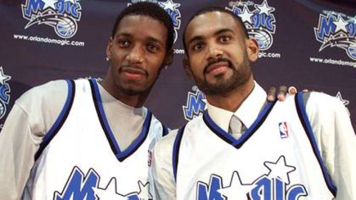 Grant Hill and Tracy McGrady signed with Orlando (Reuters)