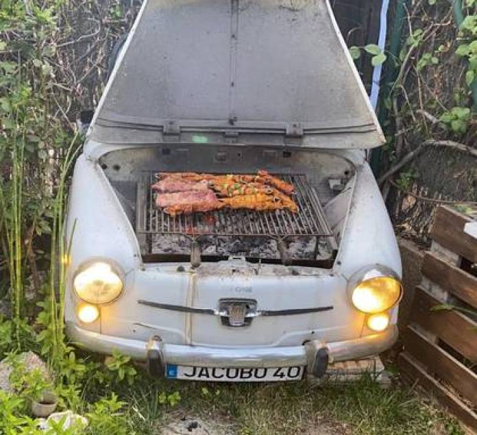 The eccentric grill of the Spanish