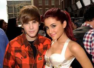Justin Beiber and Ariana Grande