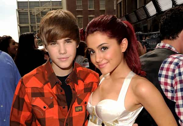 Justin Beiber and Ariana Grande