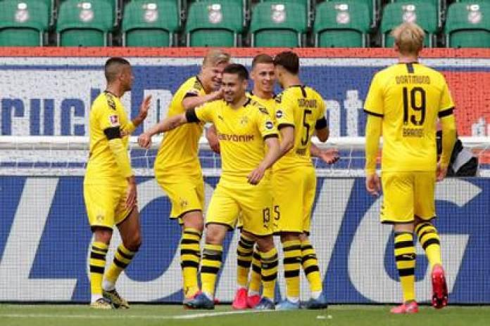Dortmund face Paderborn without Haaland, injured